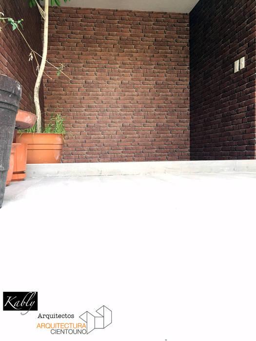 Jardines de estilo minimalista de Arquitectura101 + Kably Arquitectos Minimalista