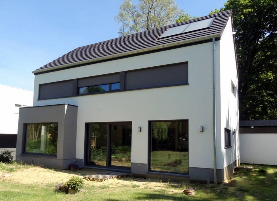 Maison basse énergie à wavre maisons de style de style moderne