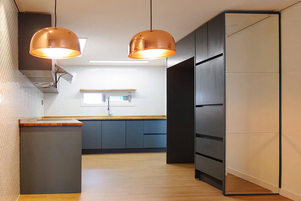 목소리 ห้องครัวซิงก์และก๊อกน้ำ ไม้ Grey