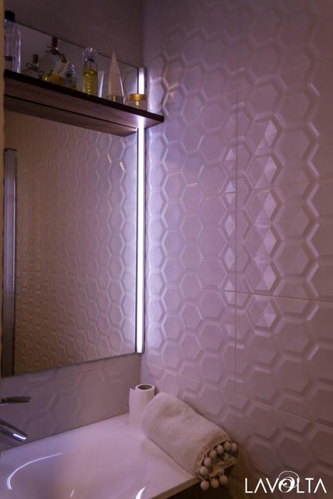 Modern Bathroom by Lavolta Modern Tiles