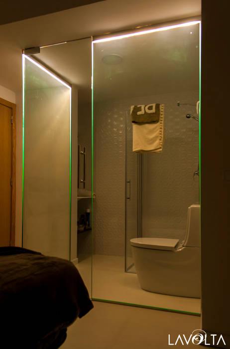 Modern Bedroom by Lavolta Modern Glass