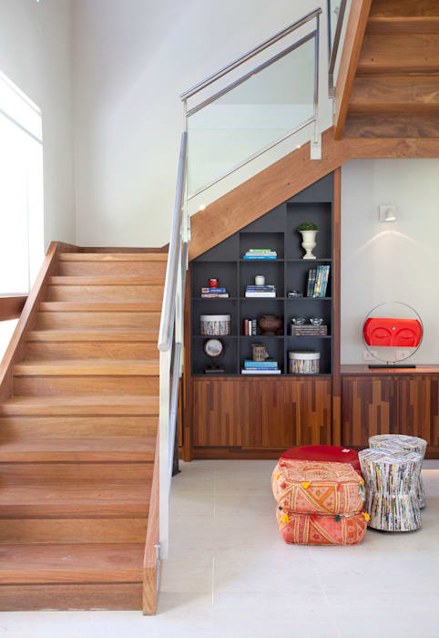 Ruang Keluarga Modern Oleh Samy & Ricky Arquitetura Modern