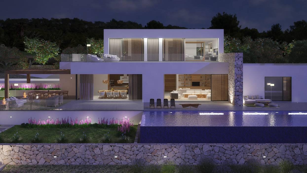 Rumah Modern Oleh Atlant de Vent Modern