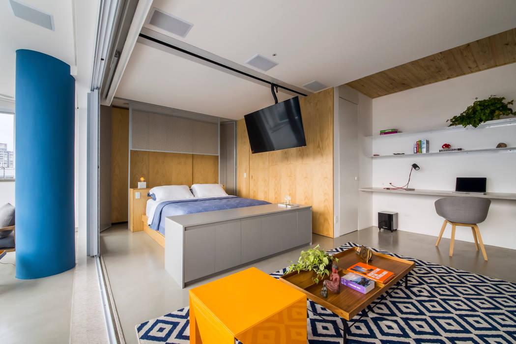 Casa100 Arquitetura Спальня