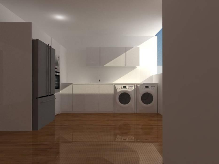 Кухни в . Автор – ARCE FLORIDA, Модерн Дерево Эффект древесины