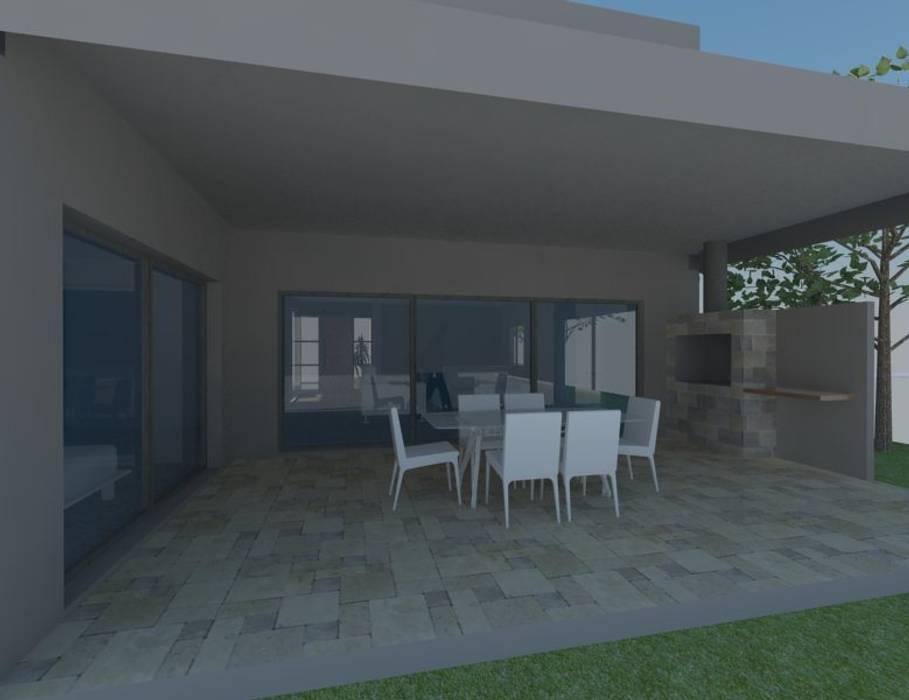 Galería Casas modernas: Ideas, imágenes y decoración de E+ arquitectura Moderno Ladrillos