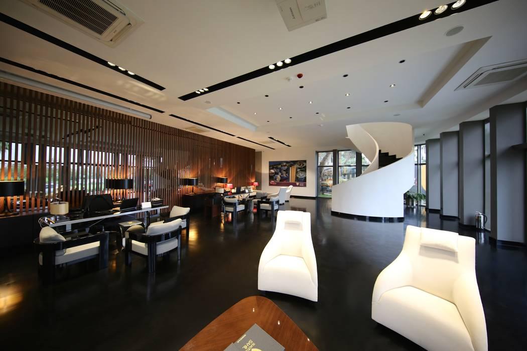 Bekleme Salonu Modern Oturma Odası Kerim Çarmıklı İç Mimarlık Modern