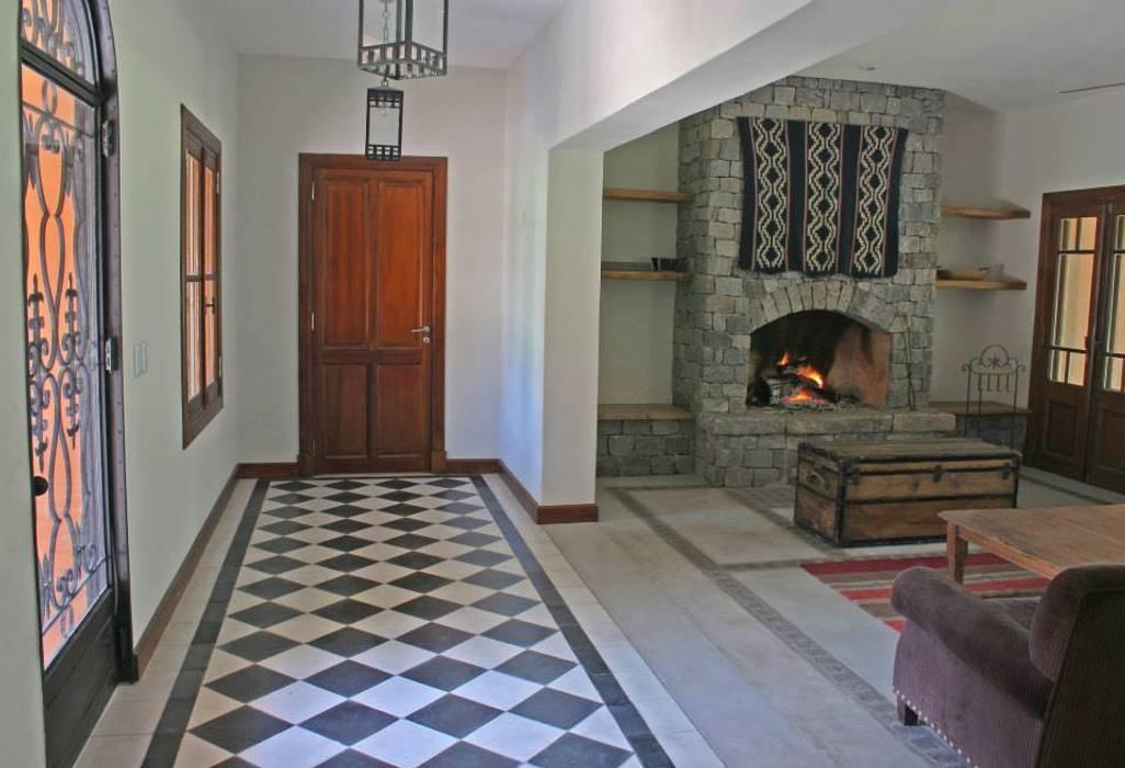 Wände & Böden im Landhausstil von Aulet & Yaregui Arquitectos Landhaus