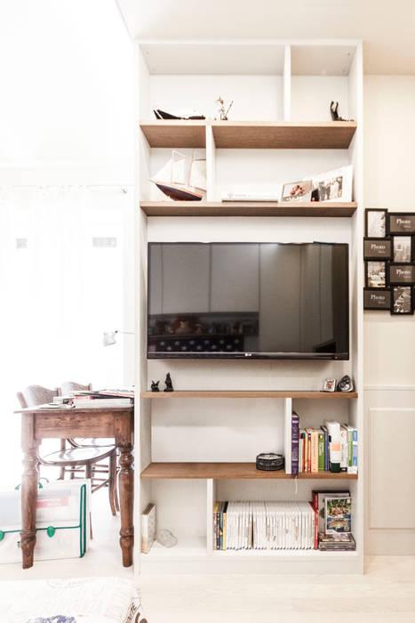 Libreria e mobile tv camera ragazzi: camera da letto in stile di ...