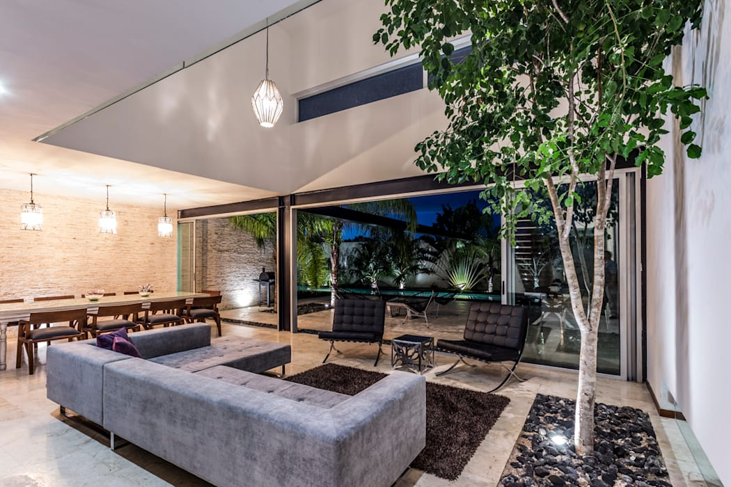Salas de estar  por P11 ARQUITECTOS, Moderno