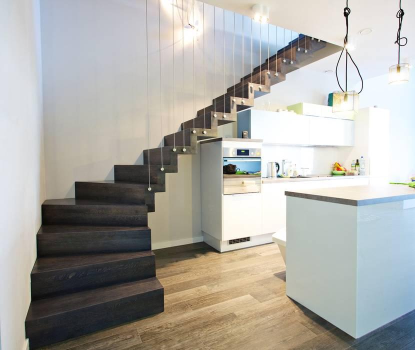 Modern Corridor Hallway Stairs By Lifestyle Treppen De