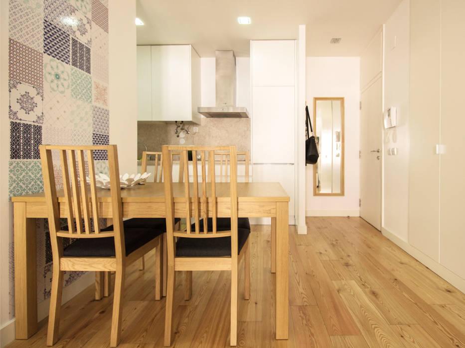 Apartamento da Glória Cozinhas escandinavas por homify Escandinavo
