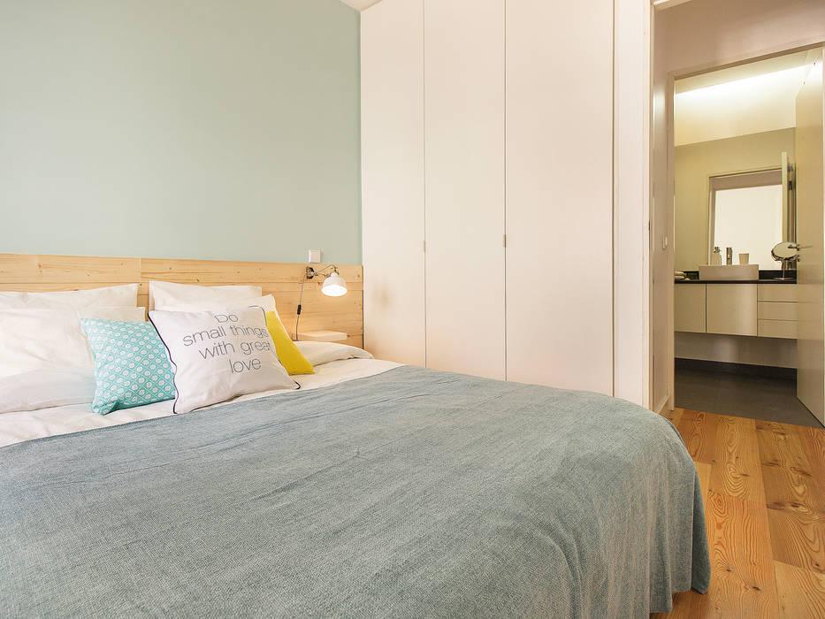 Apartamento da Glória Quartos escandinavos por homify Escandinavo