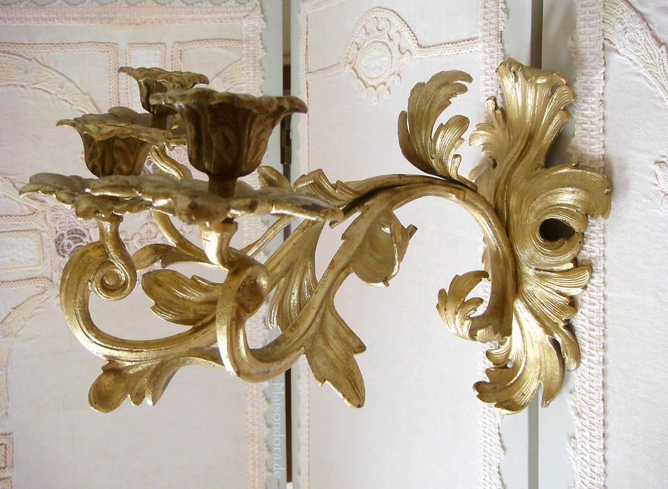 Antike Kronleuchter Frankreich ~ Antiker floraler jugendstil bronzeleuchter aus frankreich