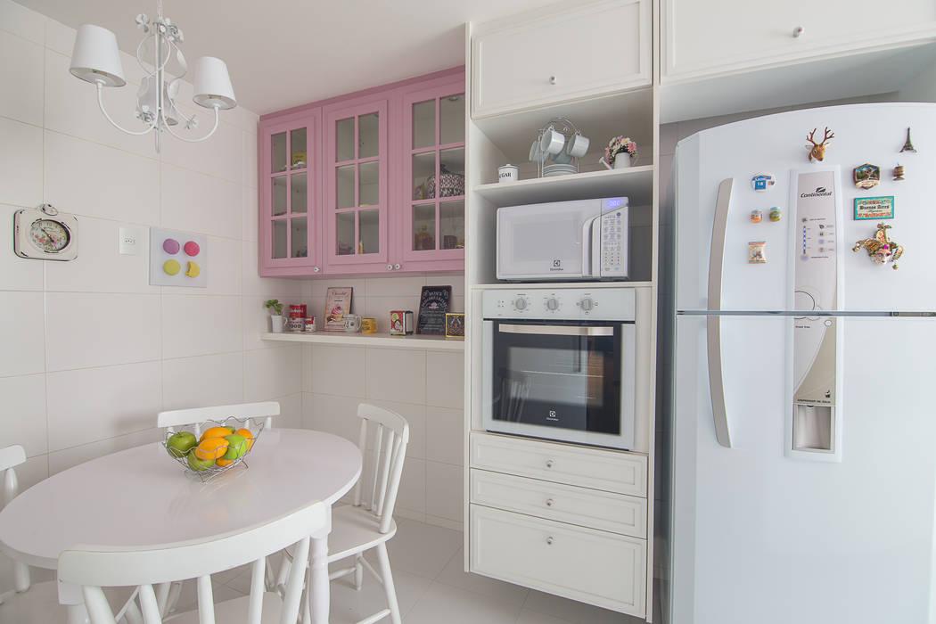 Cobertura Recreio dos Bandeirantes- RJ Duplex Interiores Cozinhas clássicas