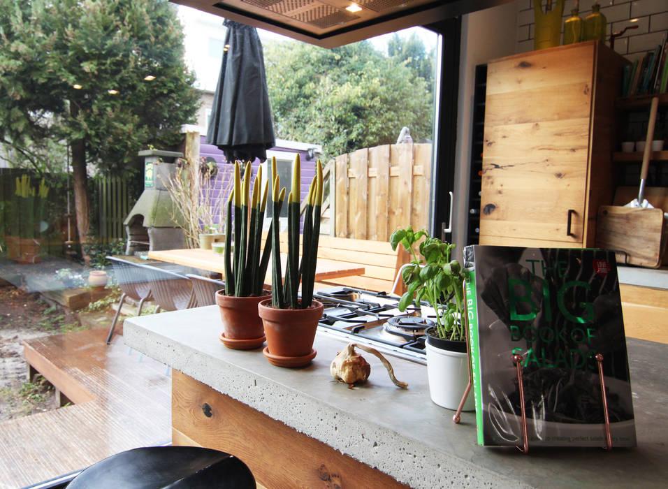 現代廚房設計點子、靈感&圖片 根據 Diego Alonso designs 現代風