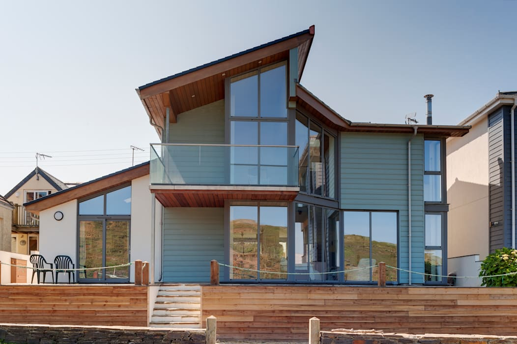 Rockside, Polzeath, Cornwall Modern houses by Trewin Design Architects Modern