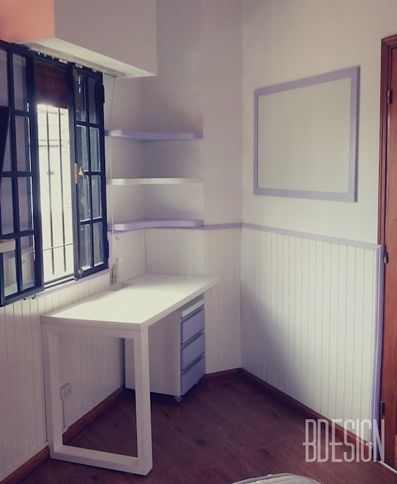 Obra terminada: Dormitorios de estilo moderno por Estudio BDesign