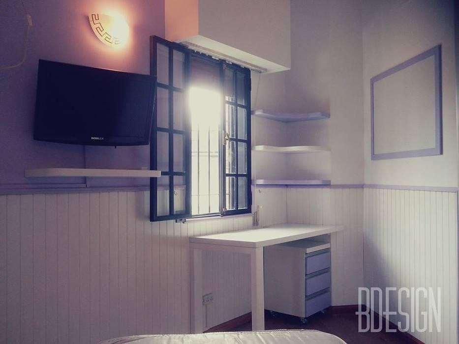 Obra terminada: Dormitorios de estilo  por Estudio BDesign