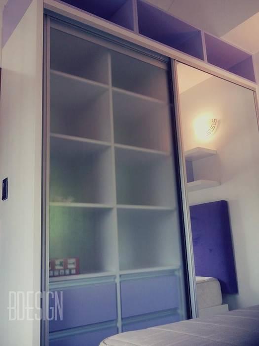 obra termianda: Dormitorios de estilo  por Estudio BDesign