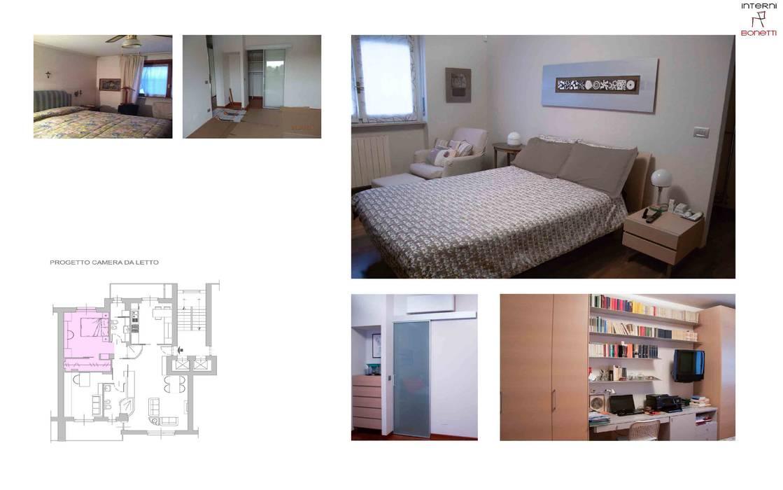 Progettazione : camera da letto in stile di interni bonetti | homify