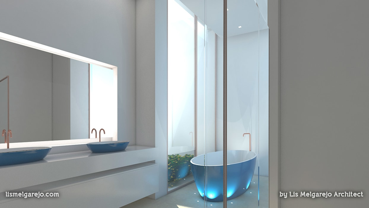 Lis Melgarejo Arquitectura Mediterranean style bathroom