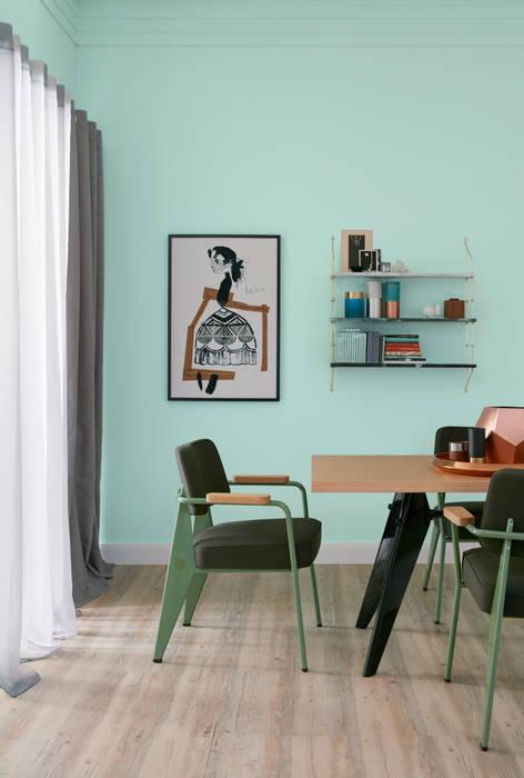 SCHÖNER WOHNEN-FARBE Dinding & Lantai Modern Green