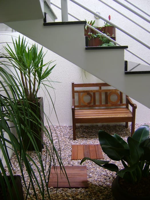 Moderner Wintergarten von MC3 Arquitetura . Paisagismo . Interiores Modern