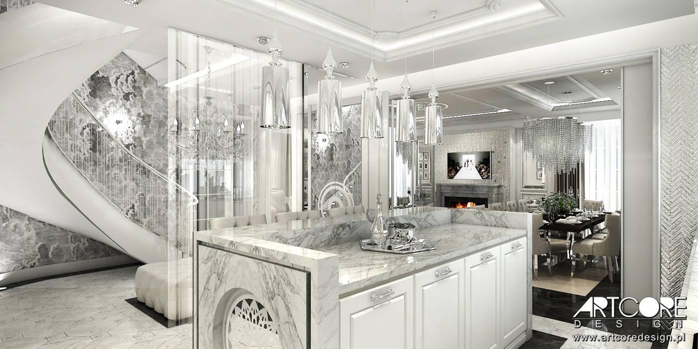 Projekt Kuchni Glamour Styl W Kategorii Kuchnia