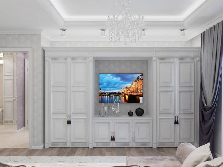 Living room by Студия дизайна интерьера Маши Марченко,
