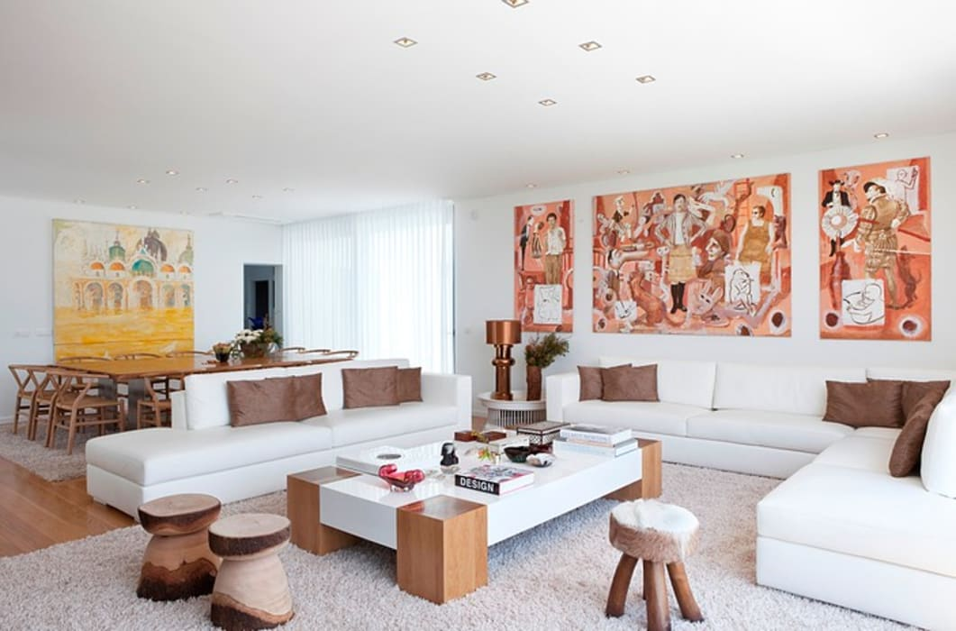 MORADIA ALENTEJO Salas de estar modernas por Artica by CSS Moderno