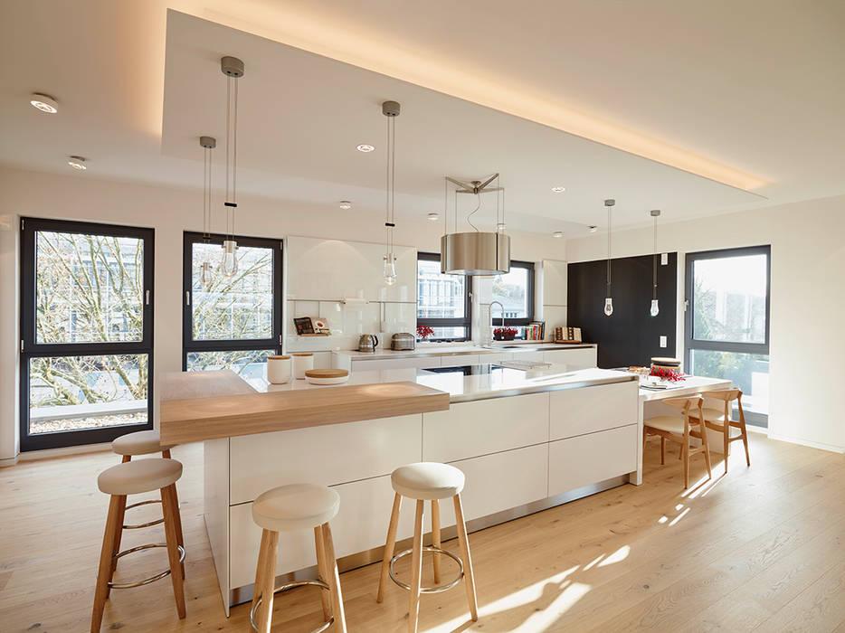 Penthouse Moderne Küchen von HONEYandSPICE innenarchitektur + design Modern
