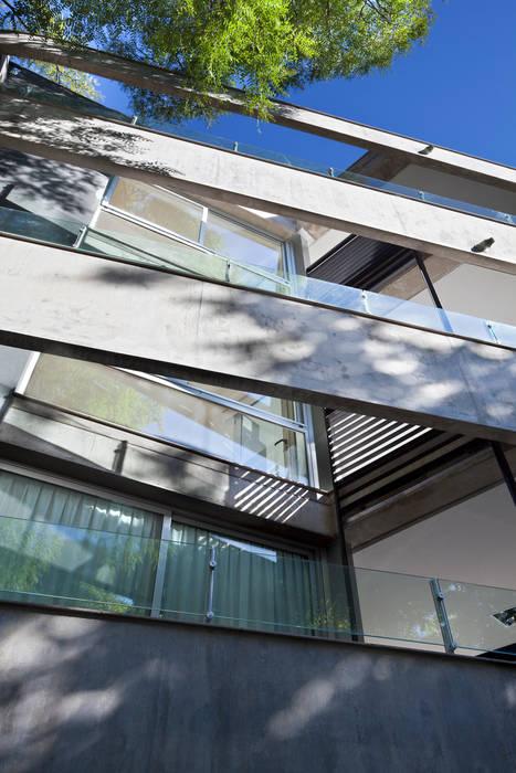 JV&ARQS Asociados Балкон и терраса в стиле модерн