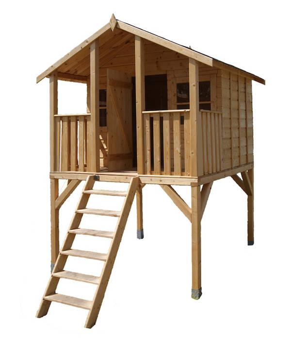 Garten stelzenhaus cool wickey spielturm kletterturm for Baumhaus furs kinderzimmer