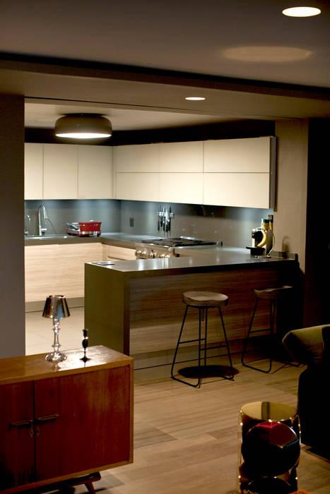 Cocinas de estilo  de MAAD arquitectura y diseño, Ecléctico