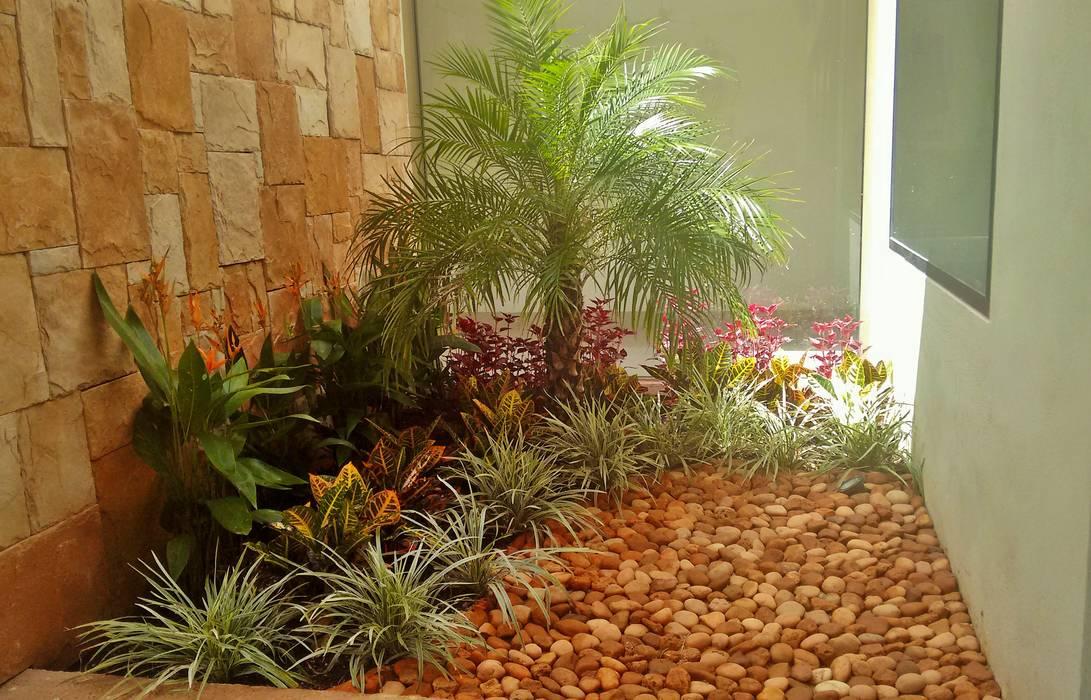Remate Interior en acceso - final de EcoEntorno Paisajismo Urbano