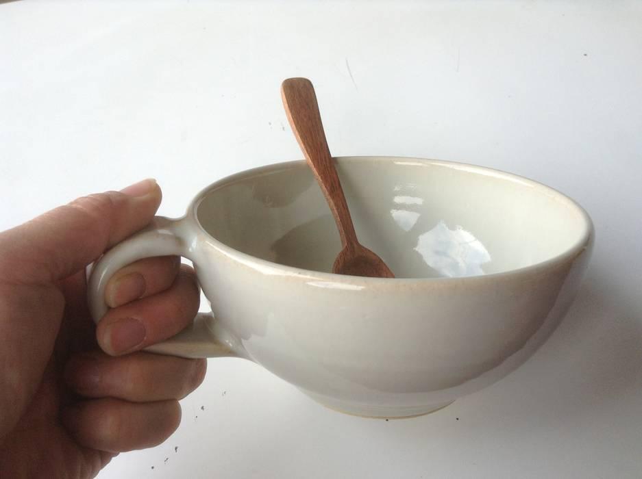 てとて CasaArticoli Casalinghi Ceramiche Beige