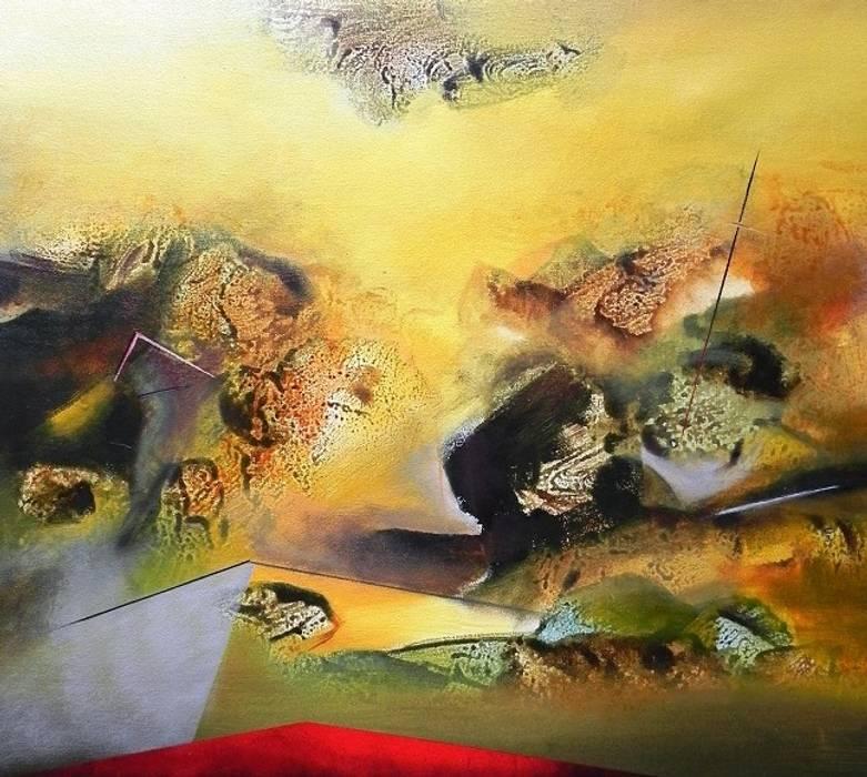 de estilo  de Indian Art Ideas, Moderno Lino Rosa