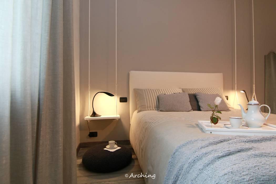 Grey Blue - Restyling zona notte: Camera da letto in stile in stile Moderno di Arching - Architettura d'interni & home staging