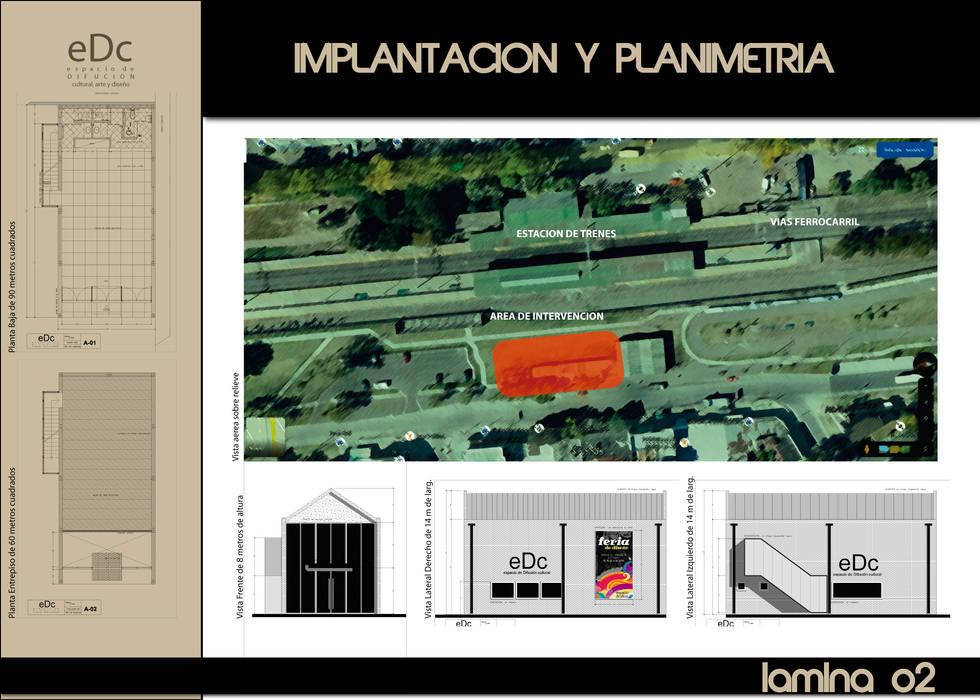 IMPLANTACION DE LA OBRA Salas multimedia industriales de CubiK Industrial