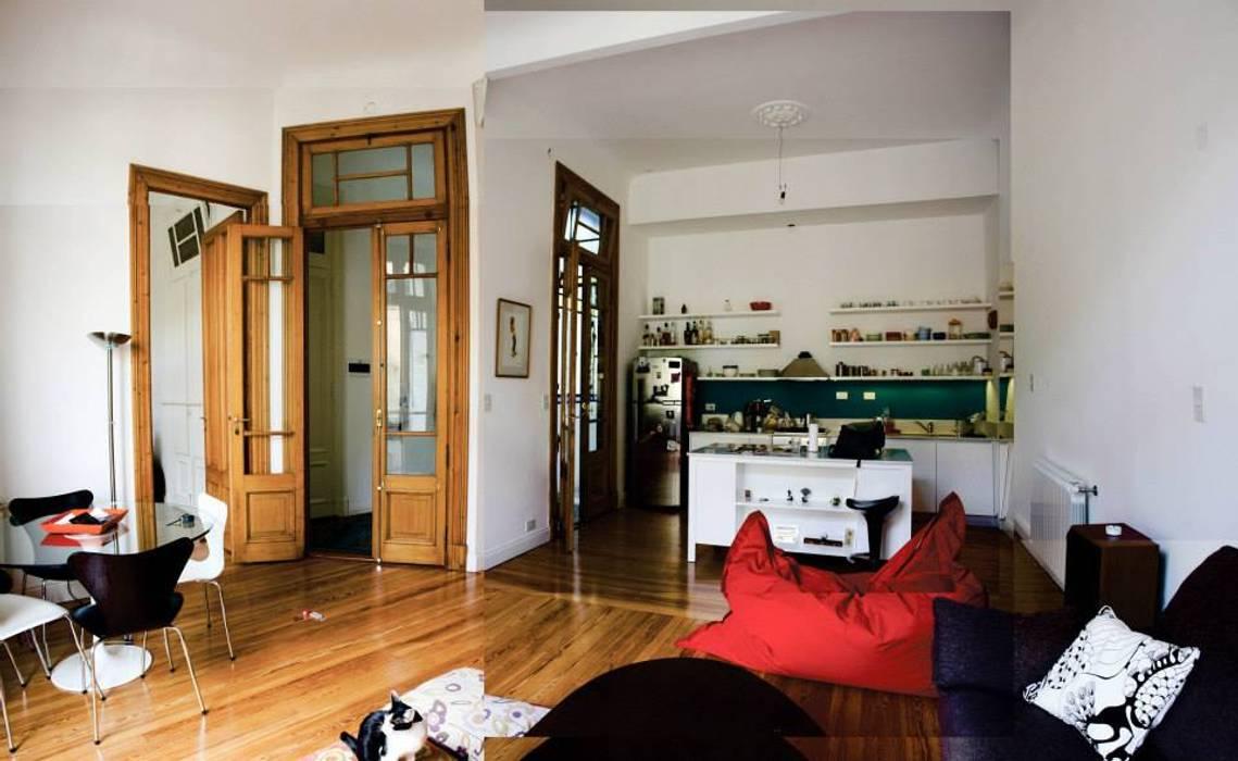 Ruang Keluarga Gaya Eklektik Oleh homify Eklektik