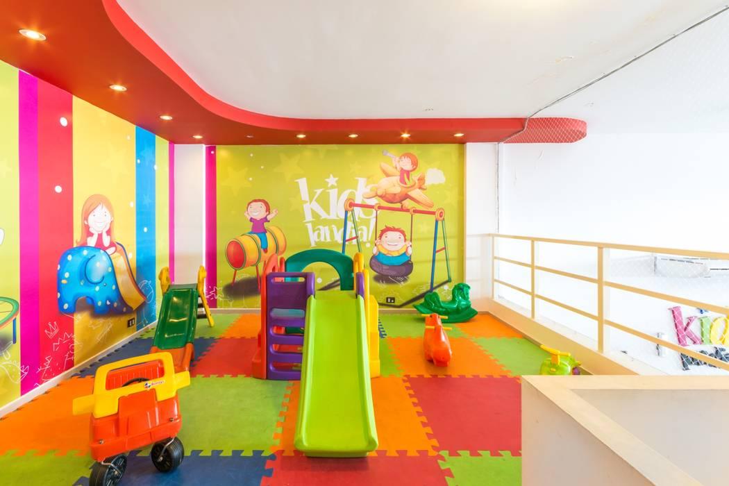 SECTOR BEBES: Salas de eventos de estilo  por CELOIRA CALDERON ARQUITECTOS