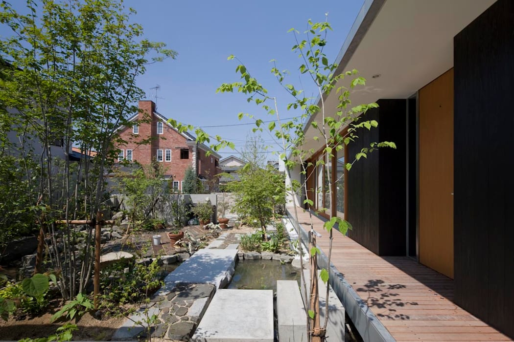 EDAMATSU House オリジナルな 庭 の 澤村昌彦建築設計事務所 オリジナル