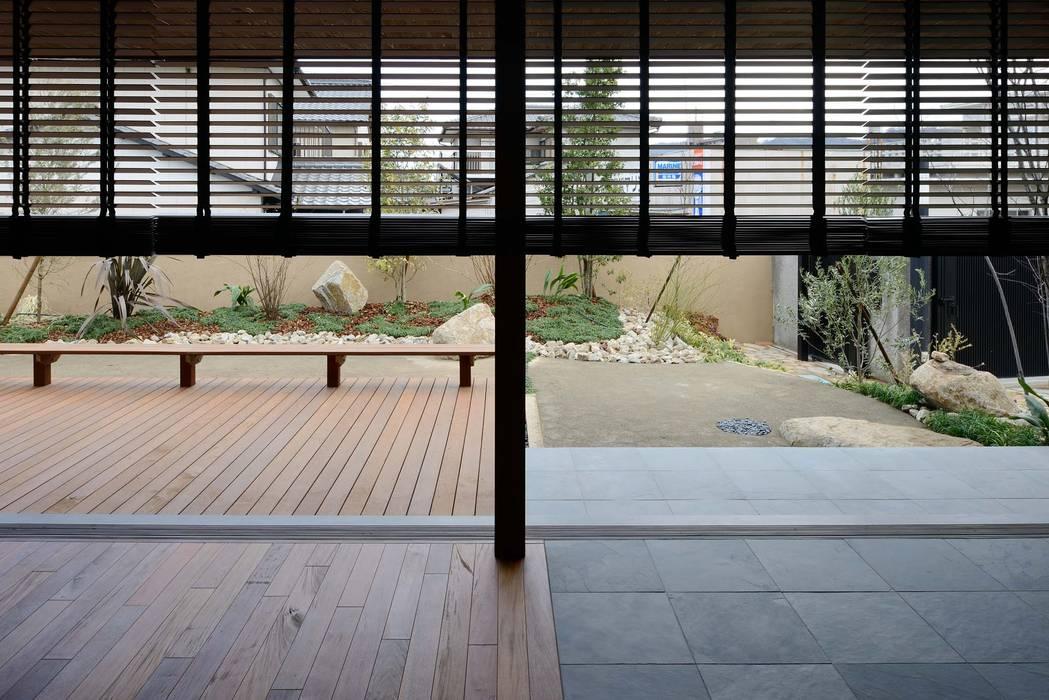 Scandinavian style garden by 澤村昌彦建築設計事務所 Scandinavian