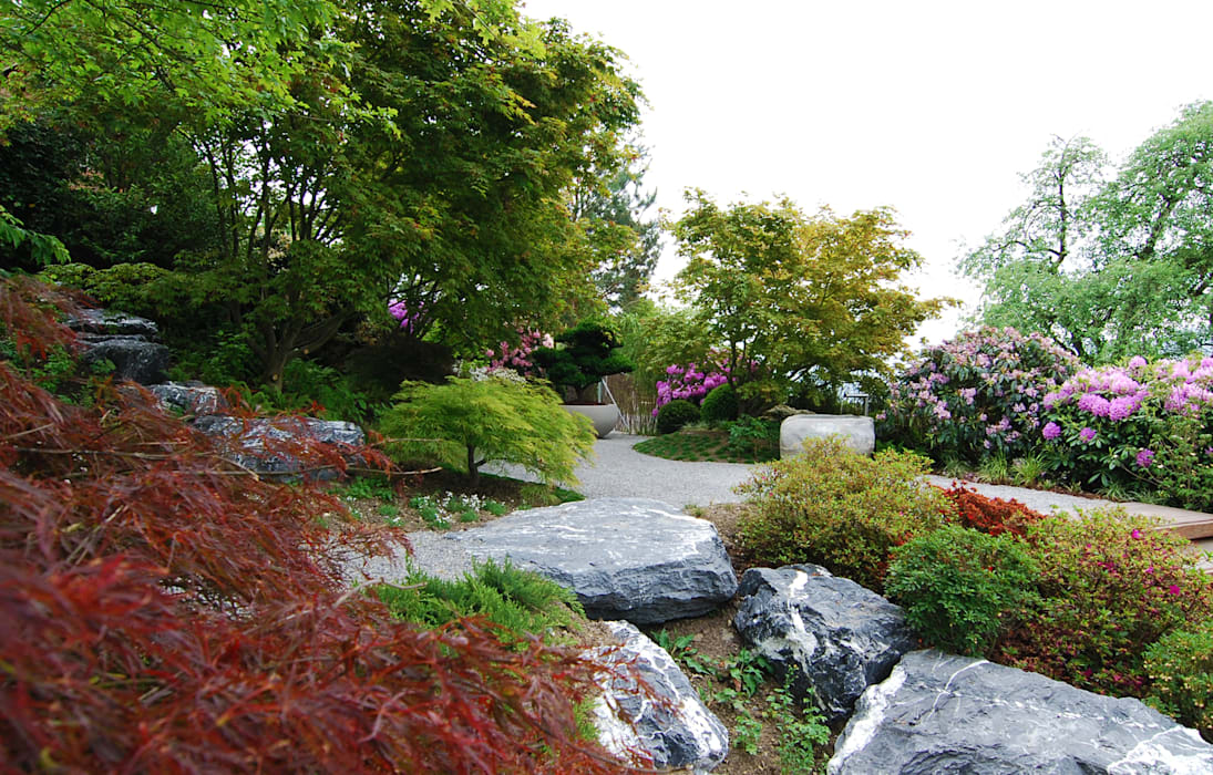 Azjatycki ogród od Lustenberger Schelling Landschaftsarchitektur Azjatycki