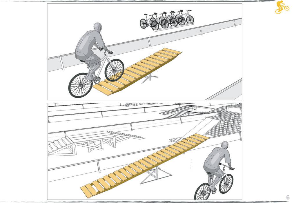 skatepark Allestimenti fieristici in stile rustico di Daniele Piazzola architetto e designer a Como Rustico