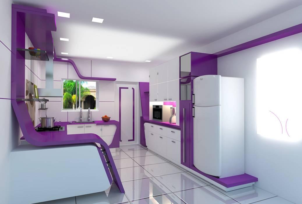 Cuisine moderne par ARY Studios Moderne