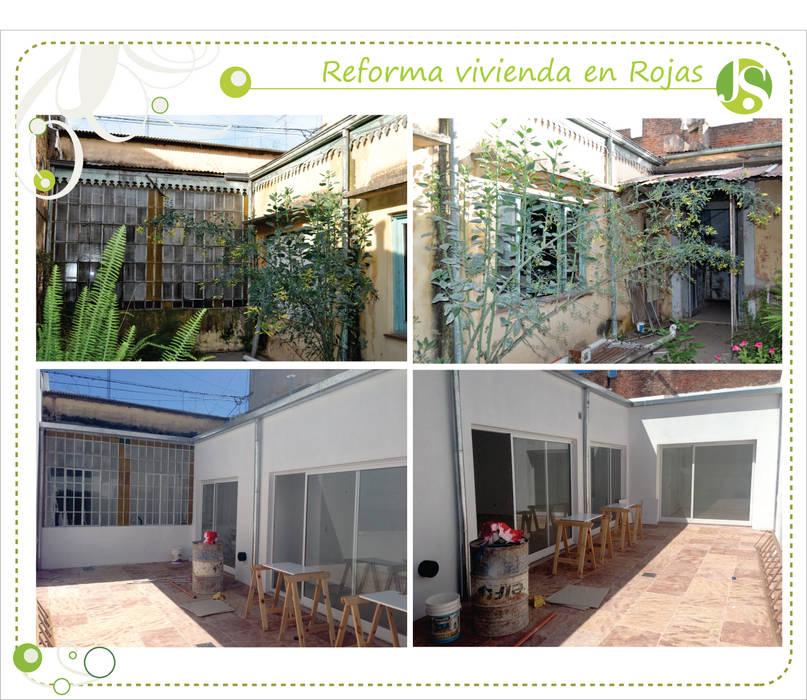 Antes y despues: Casas de estilo  por Jimena Serradell