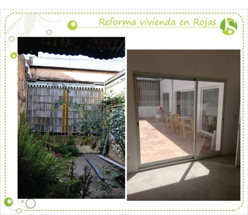 Antes y despues: Jardines de estilo  por Jimena Serradell