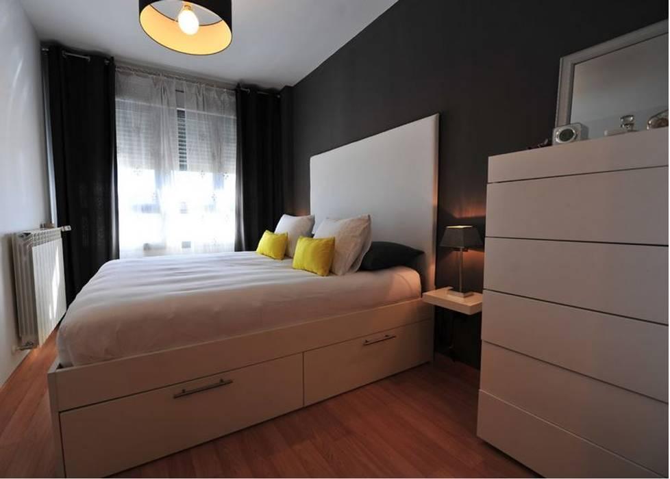 Vivienda para joven independiente Dormitorios de estilo moderno de afg interiores Moderno